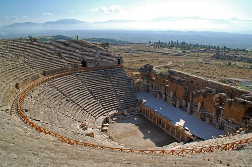 Hierapolis (Holy City) An Ancient City In Turkey