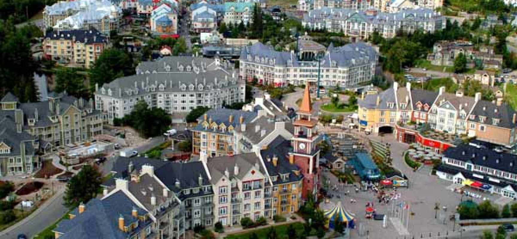 Mont Tremblant A Mountainous City In Quebec, Canada