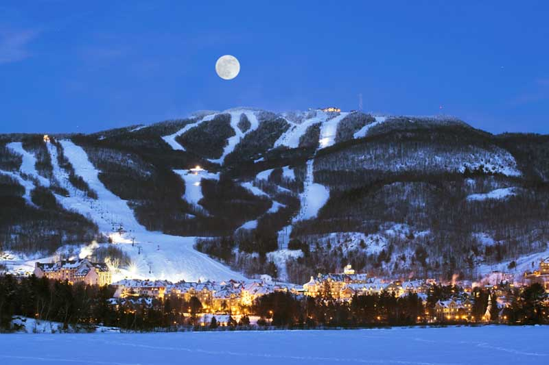 mont tremblant a mountainous city in quebec canada. Black Bedroom Furniture Sets. Home Design Ideas