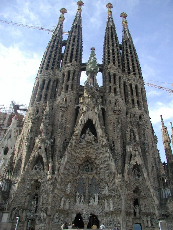 Sagrada Familia A Famous Church In Barcelona