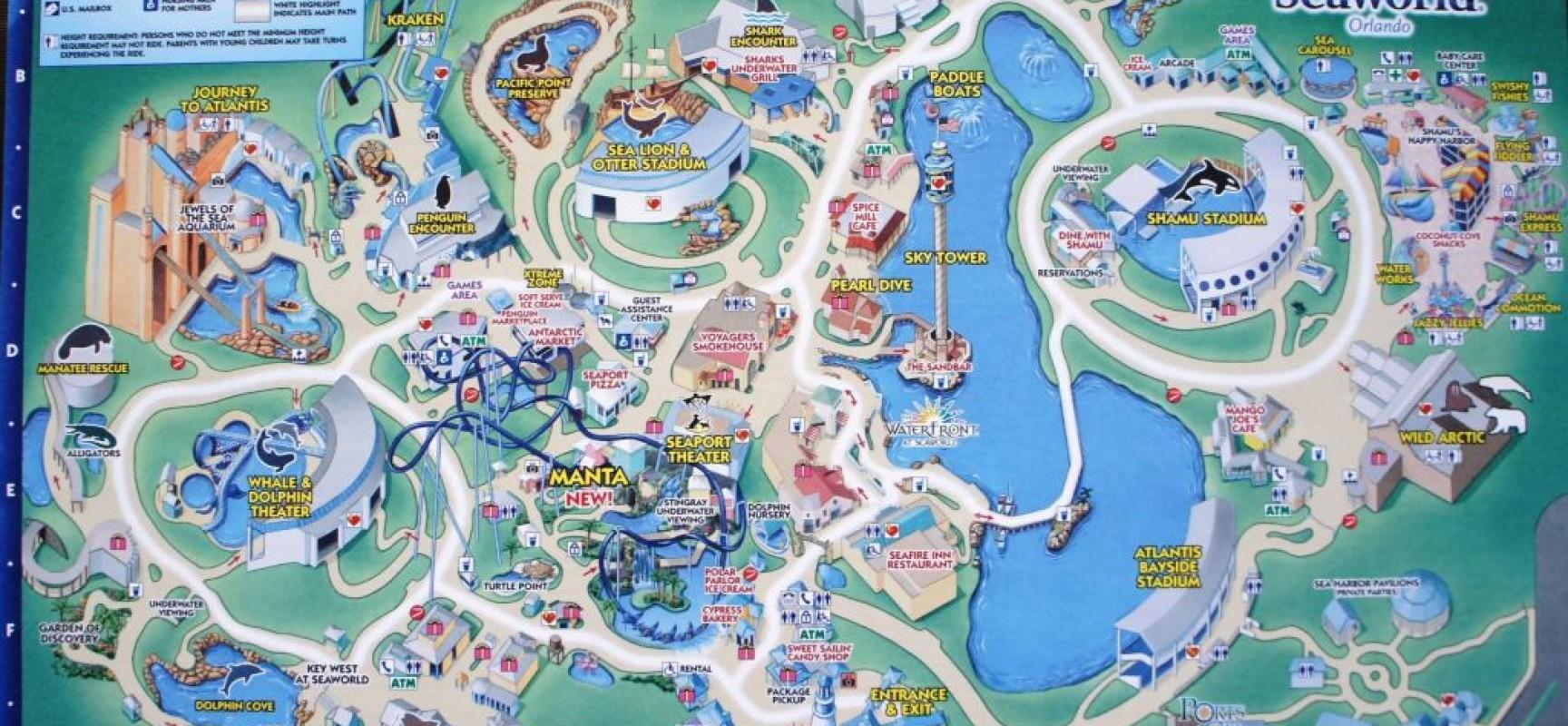 SeaWorld Orlando A Theme Park In Orlando, Florida | Travel ...