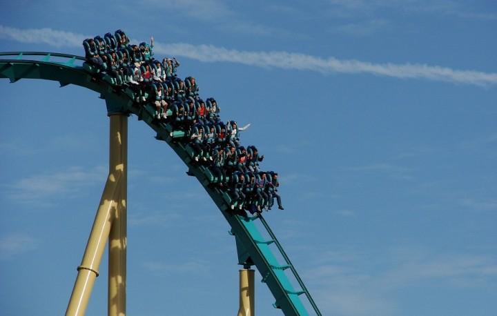 SeaWorld Orlando roller coaster