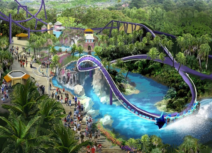 SeaWorld Orlando theme waterpark