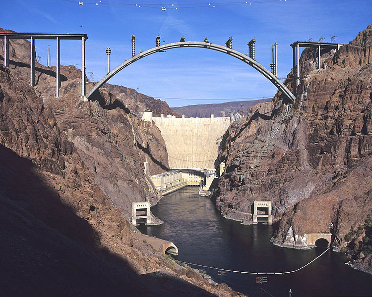 Hoover Dam An Arch-Gravity Dam In Arizona | Travel Featured
