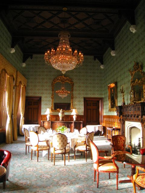 Ashford Castle inside view
