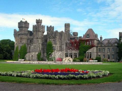 Ashford Castle garden