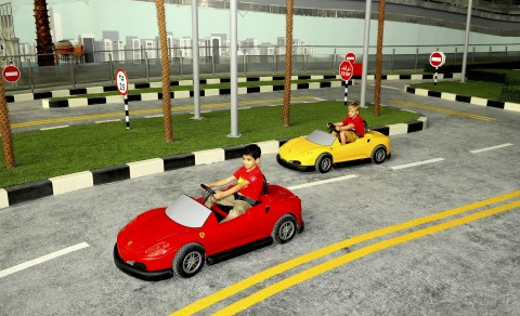 Ferrari World kids area