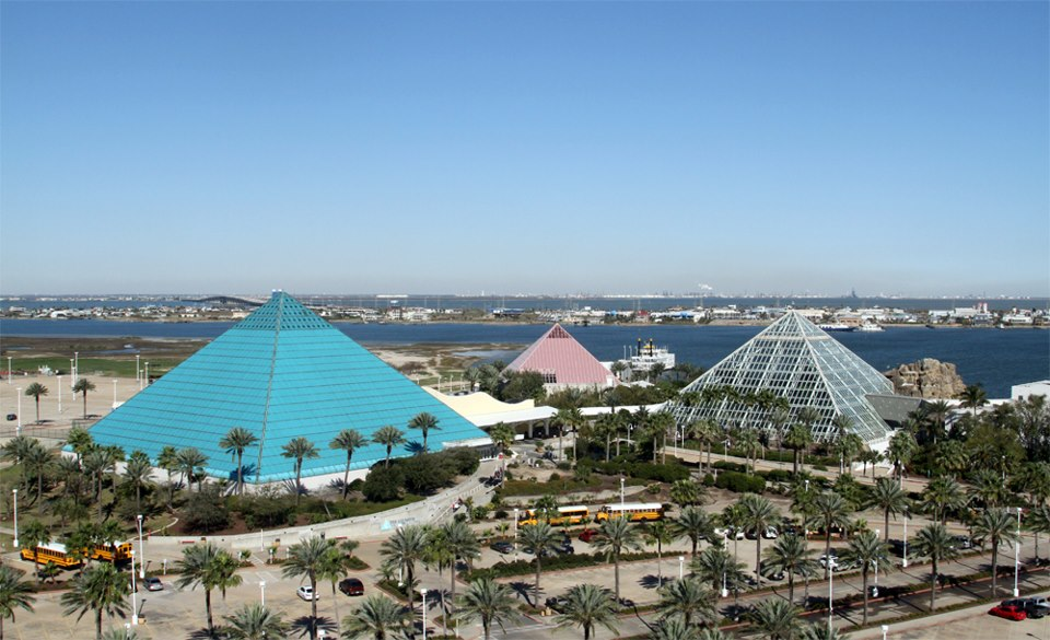 Moody Gardens Galveston Texas Travel Featured