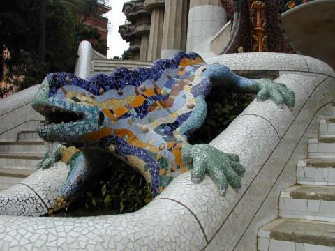 Barcelona park spain