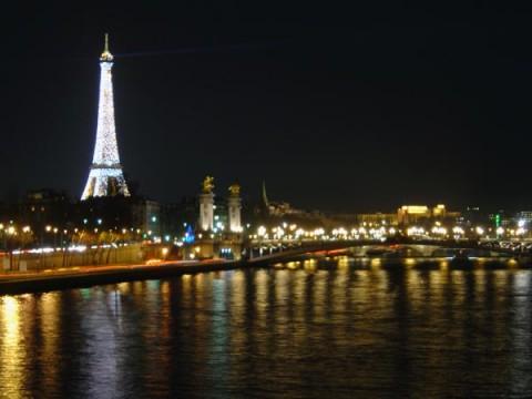 Seine A Famous River In Paris Basin
