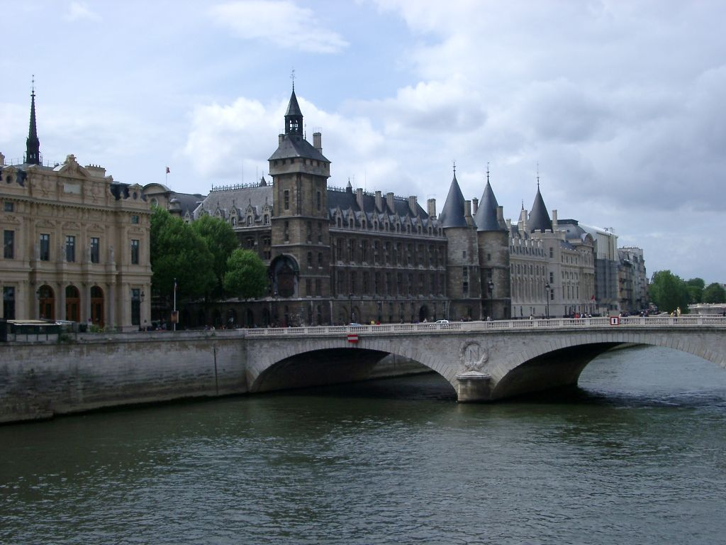 Seine A Famous River In Paris Basin  Travel Featured