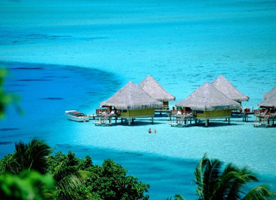 Bora Bora An Island In The Pacific Ocean