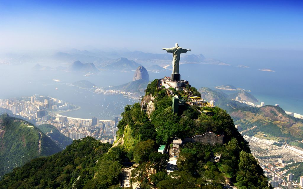 the redeemer Our daily bread daily devotions the famous statue christ the redeemer overlooks the city of rio de janeiro the statue is a model of christ with his arms extended so that his body forms the.