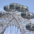 London Eye A Giant Ferris Wheel In London, England