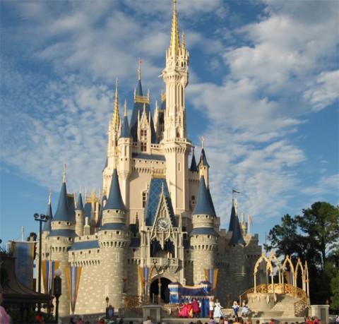Magic Kingdom A Theme Park In Bay Lake, Florida