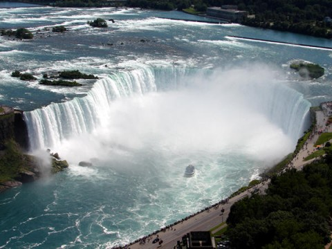 Niagara Falls Beautiful Waterfall In New York, Canada
