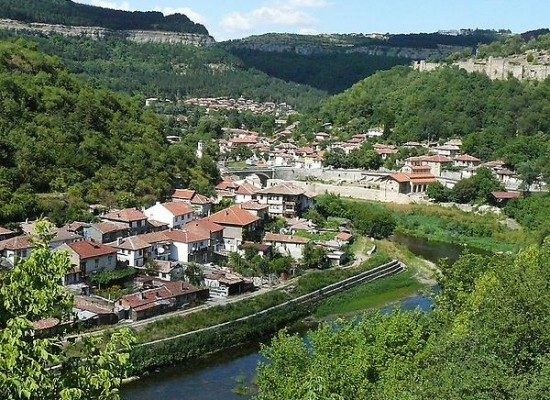 Veliko Tarnovo A Historical City In Bulgaria