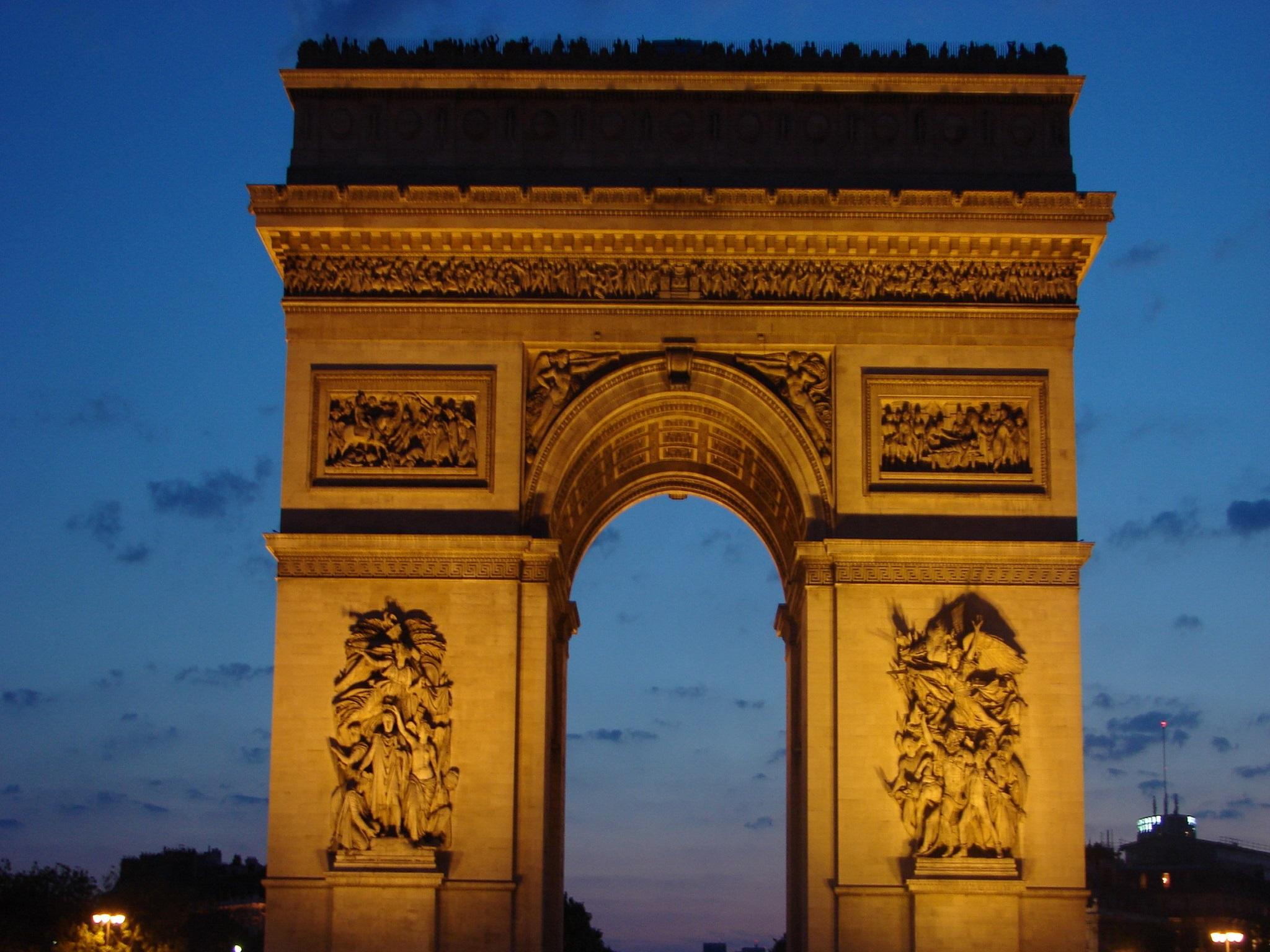 arc de triomphe a monument in paris travel featured. Black Bedroom Furniture Sets. Home Design Ideas