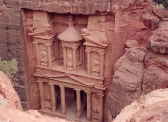 Petra Historical Place In Jordan