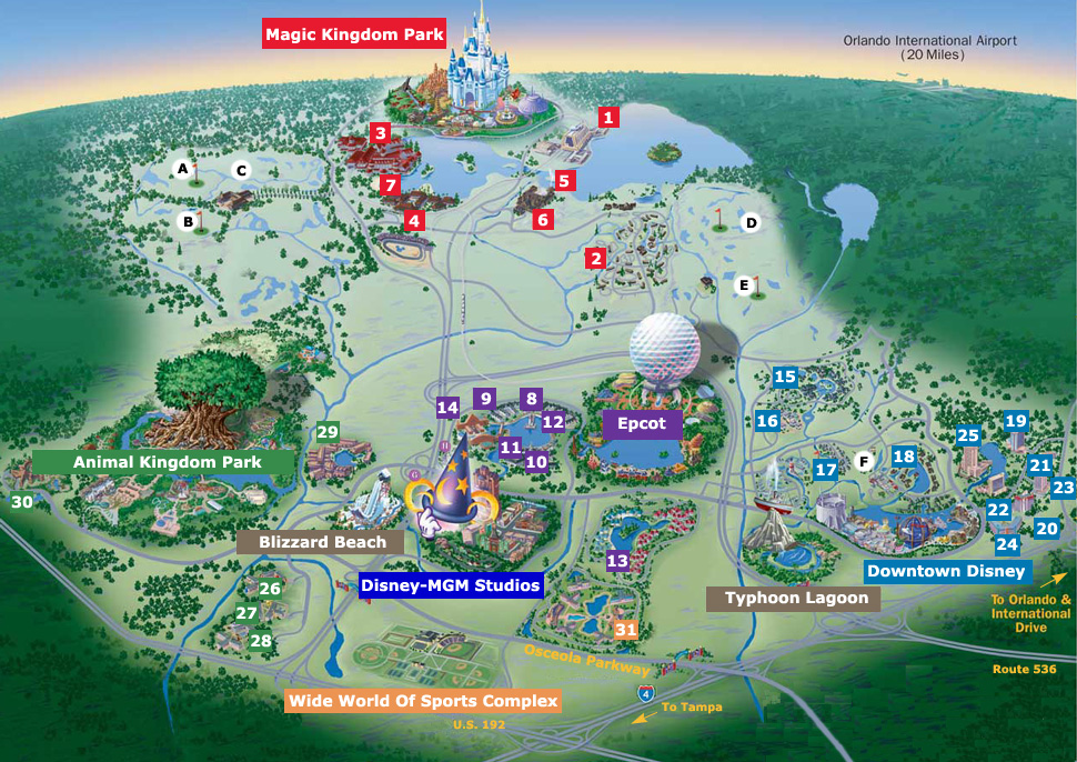 Walt Disney World An Entertainment Complex In Florida | Travel ...
