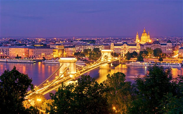 Budapest The Capital And The Largest City Of Hungary