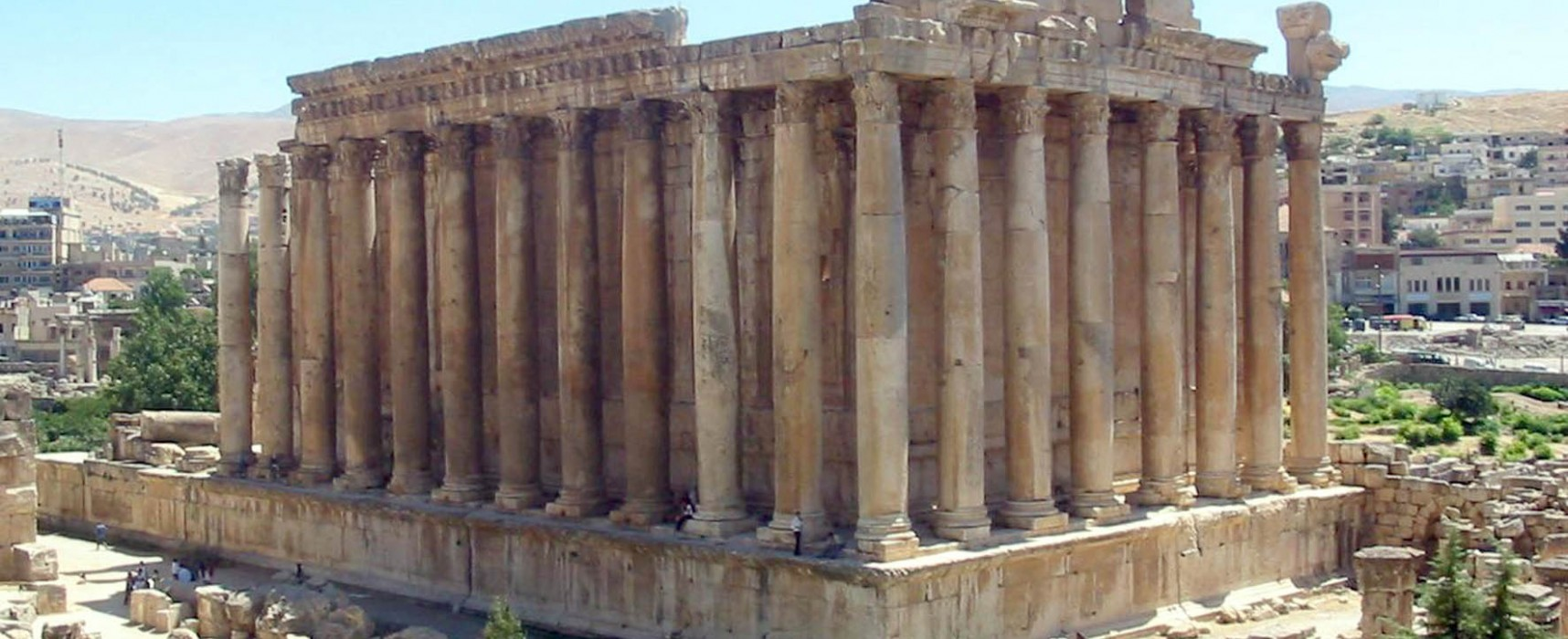 Baalbek A Famous Archaeological Site In Lebanon