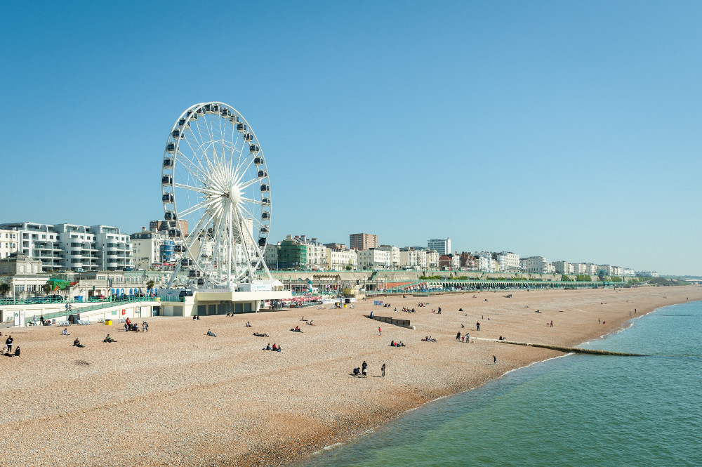 Brighton beach a famous beach in usa travel featured for The brighton