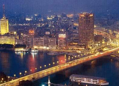 Cairo City at night