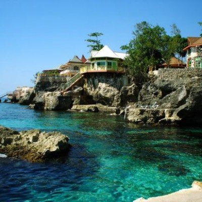 Negril A Small Beach In Jamaica