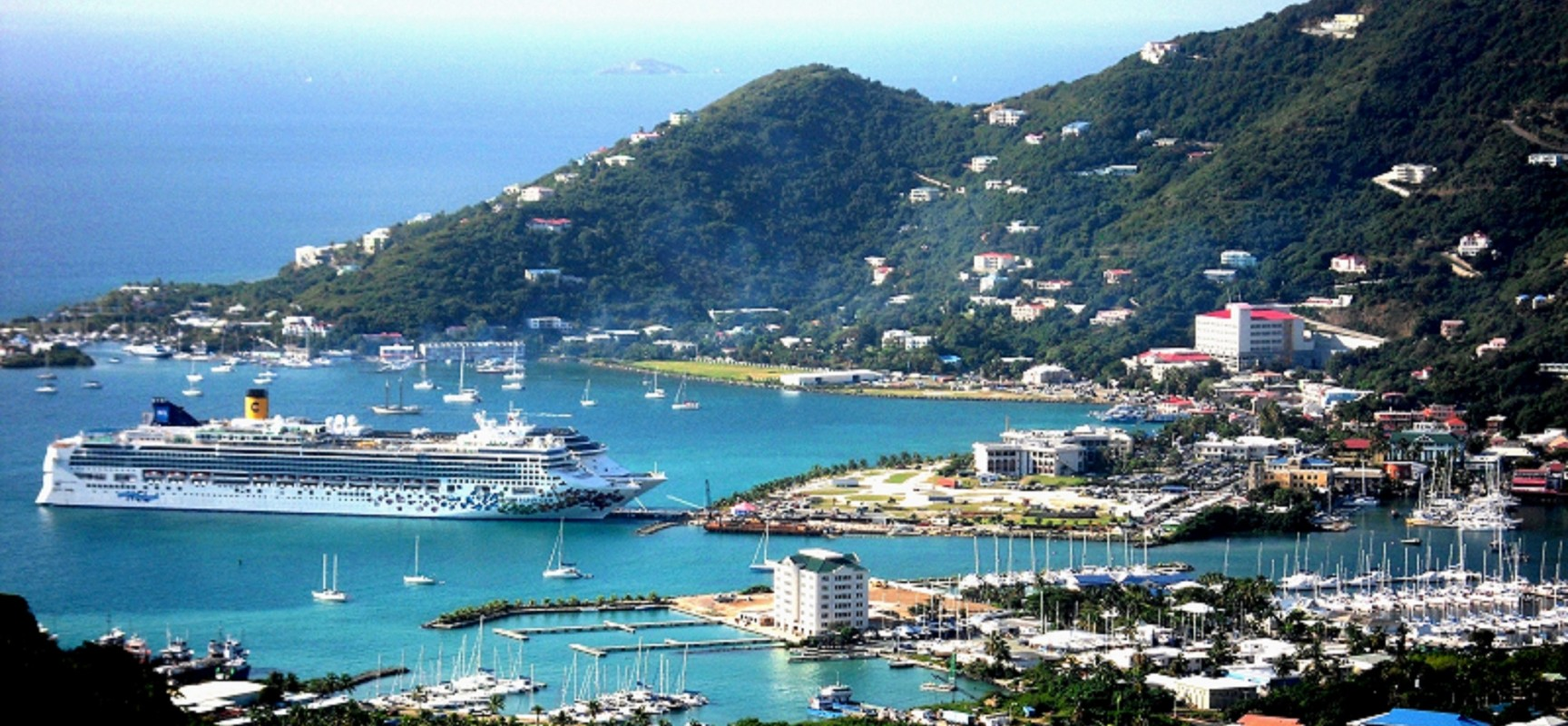 Tortola The Largest Island In British Virgin Islands