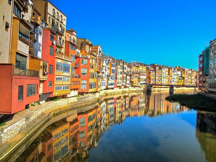 Barcelona Onyar-River
