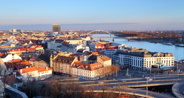 Bratislava Slovakia City View