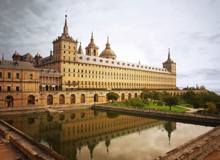Escorial-Monastery-in-Madrid-Spain
