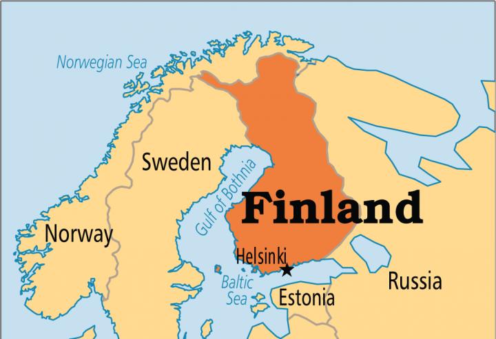 Helsinki, Finland map