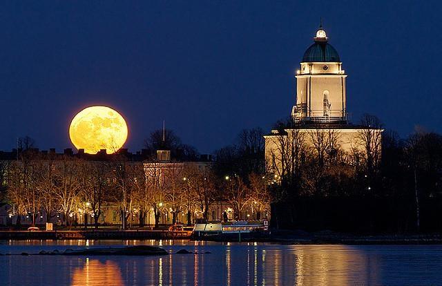 Helsinki, Finland night