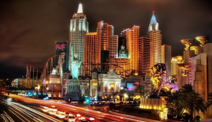 Las Vegas plaza
