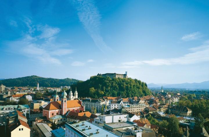 Ljubljana Slovenia Castle