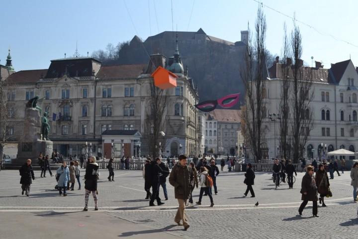 Ljubljana Slovenia Streets