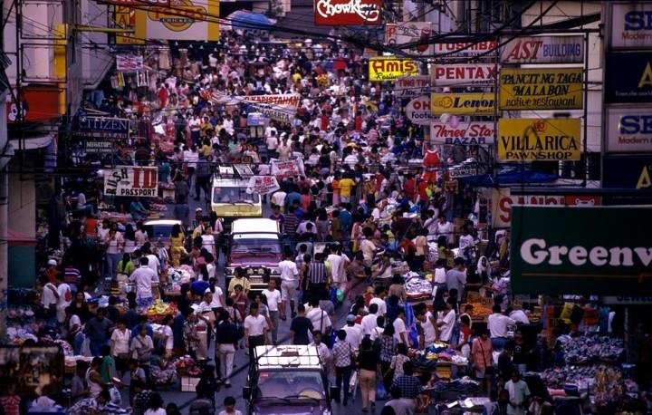 Manila streets daily