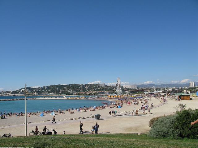 Marseille beach France