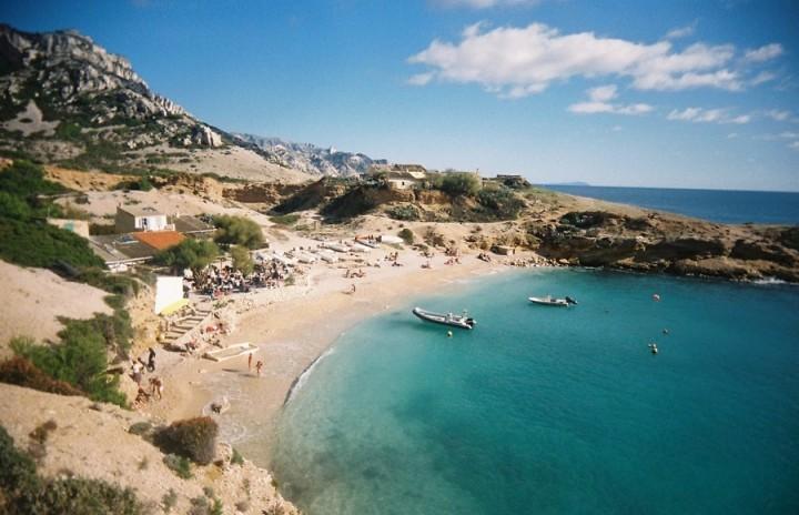 Marseille france beach