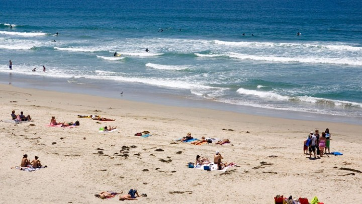 San Diego CA beach