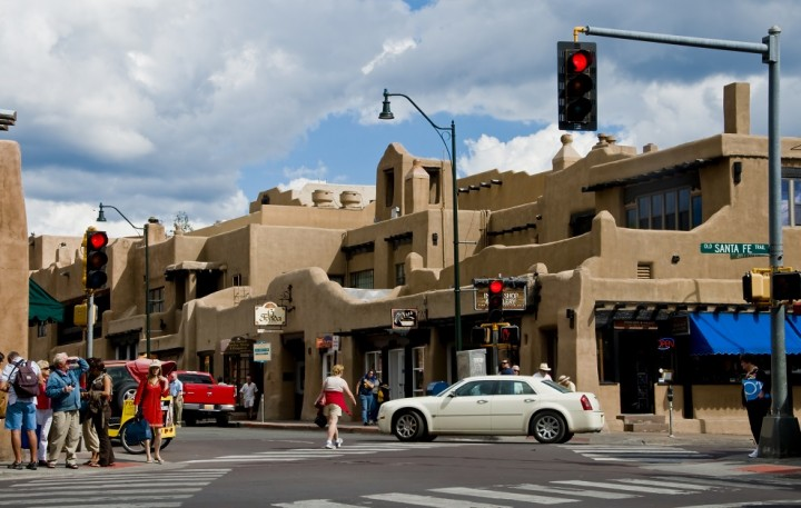 Santa Fe, NM Downtown