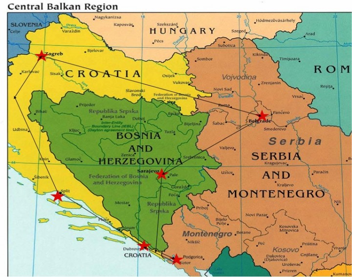 Zagreb Croatia Map