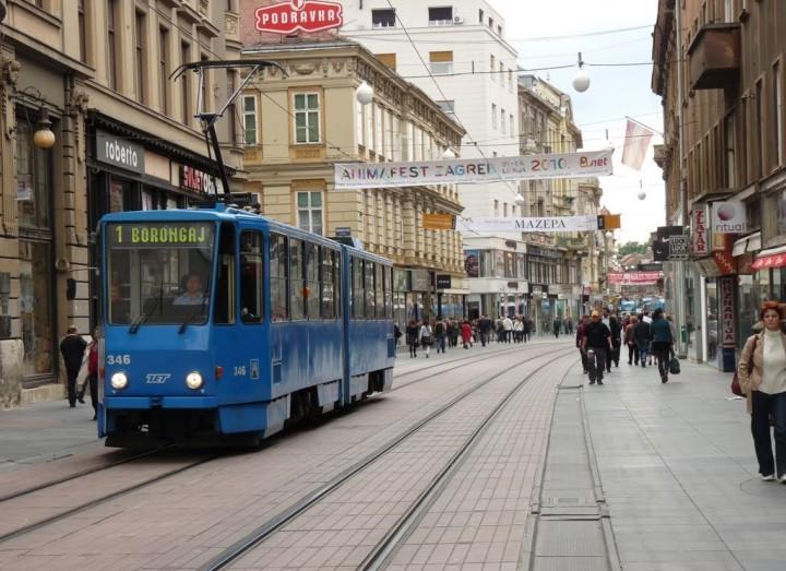 Zagreb Croatia Streets