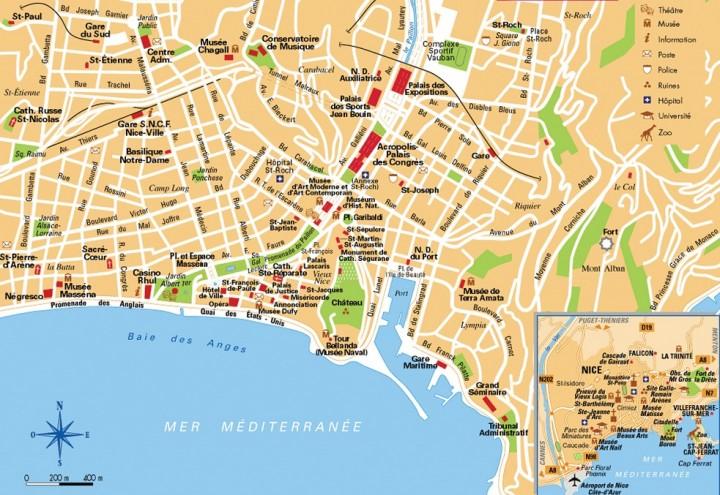 nice france map
