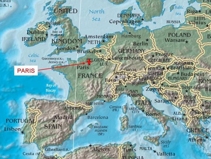 paris in europe